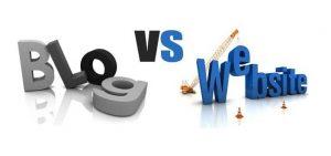 رابطه وبلاگ با وب سایت