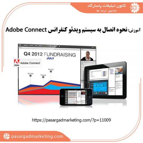 آموزش نحوه اتصال به سیستم ویدئو کنفرانس Adobe Connect