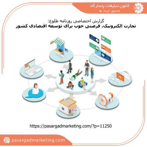 تجارت الکترونیک، فرصتی خوب برای توسعه اقتصادی کشور